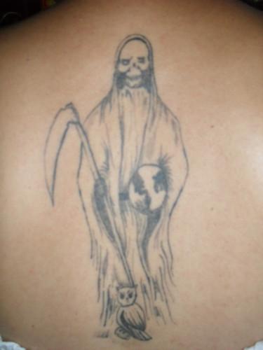 de la santa muerte para tatuar (1) - Imágenes de la Santa Muerte
