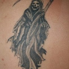 Imágenes de la santa muerte para tatuar (8)