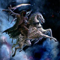 imagenes de la santa muerte a caballo (1)