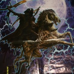 imagenes de la santa muerte a caballo (6)