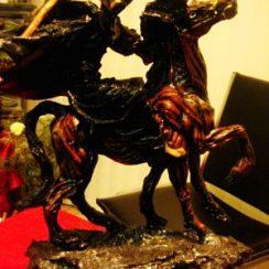 imagenes de la santa muerte a caballo (8)