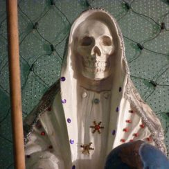 imagenes de la santa muerte blanca (1)