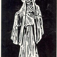 imagenes de la santa muerte blanca (2)