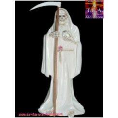 imagenes de la santa muerte blanca (3)