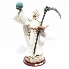 imagenes de la santa muerte blanca (4)