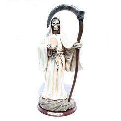 imagenes de la santa muerte blanca (5)