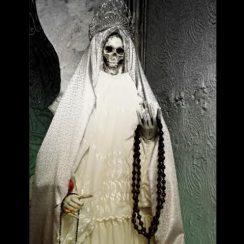 imagenes de la santa muerte blanca (6)