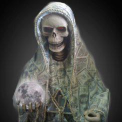 imagenes de la santa muerte blanca (9)
