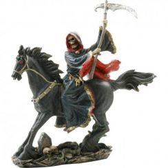 imagenes de la santa muerte en caballo (4)