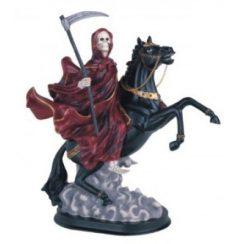 imagenes de la santa muerte en caballo (7)