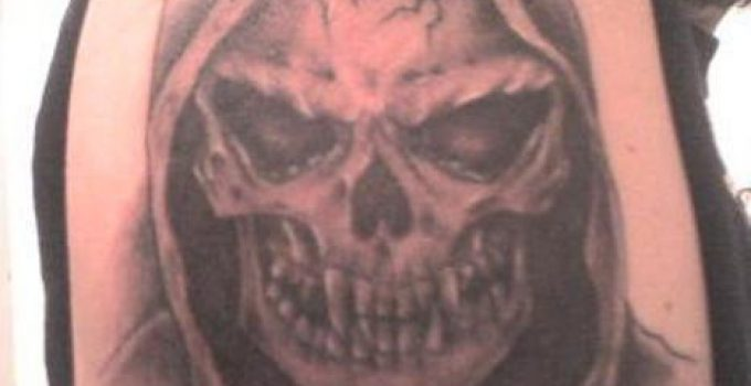 imagenes de la santa muerte en tatuajes (1)