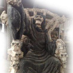 imagen de la santa muerte sentada (1)