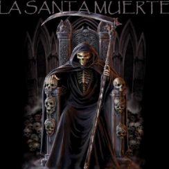 imagen de la santa muerte sentada (6)