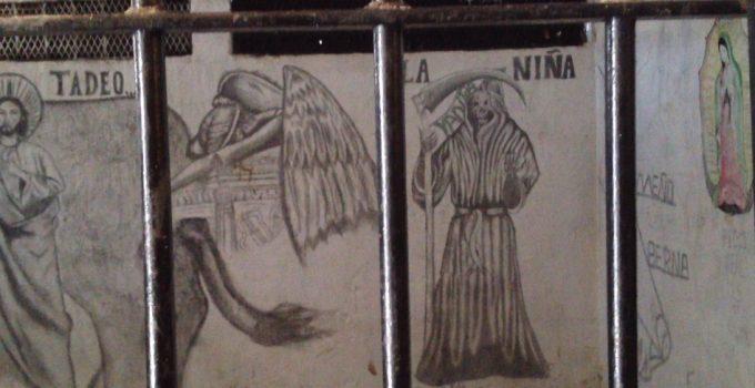 imagenes de la santa muerte a lapiz (1)
