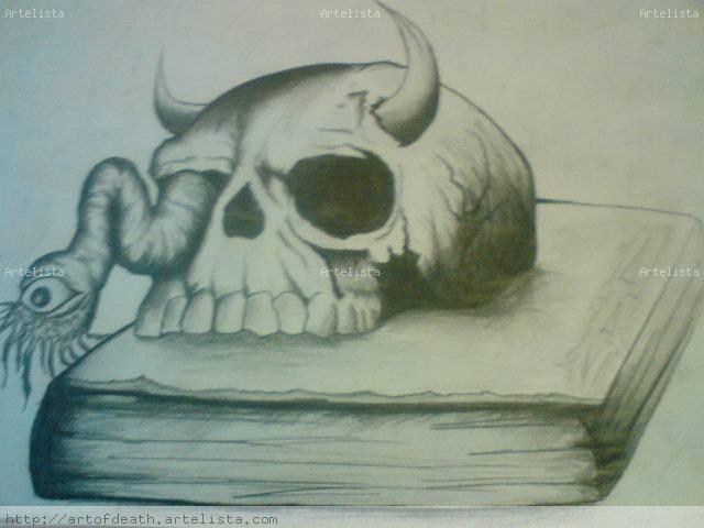 Imgenes de la Santa Muerte a lapiz  Imgenes de la Santa Muerte
