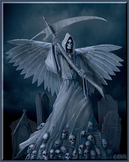 Imágenes de la Santa Muerte en Facebook