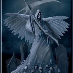 Imágenes de la Santa Muerte la blanca