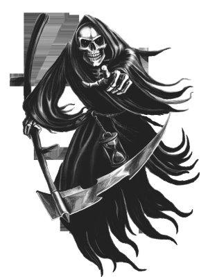 imagenes de la santa muerte para tatuajes (1)