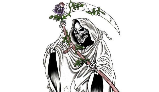 la santa muerte coloring pages - photo #11