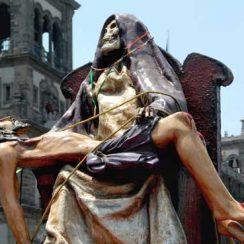 Imágenes de la Santa Muerte macabras