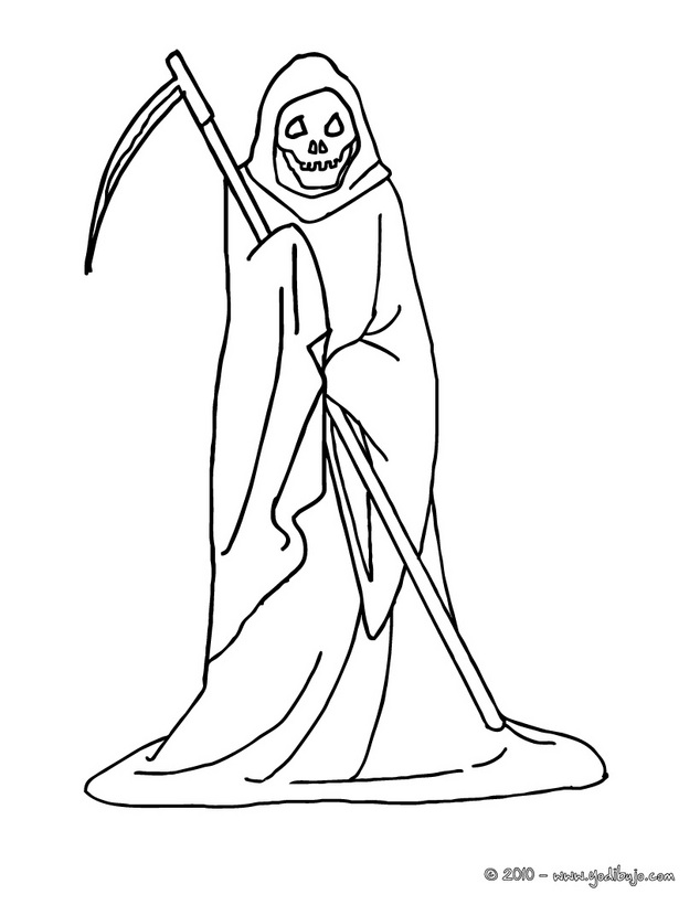 la santa muerte coloring pages - photo #3