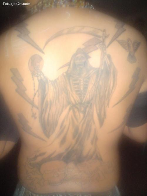 fotos de tatuajes de la santa muerte 6 jpg