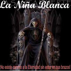 Santa Muerte La Niña Blanca