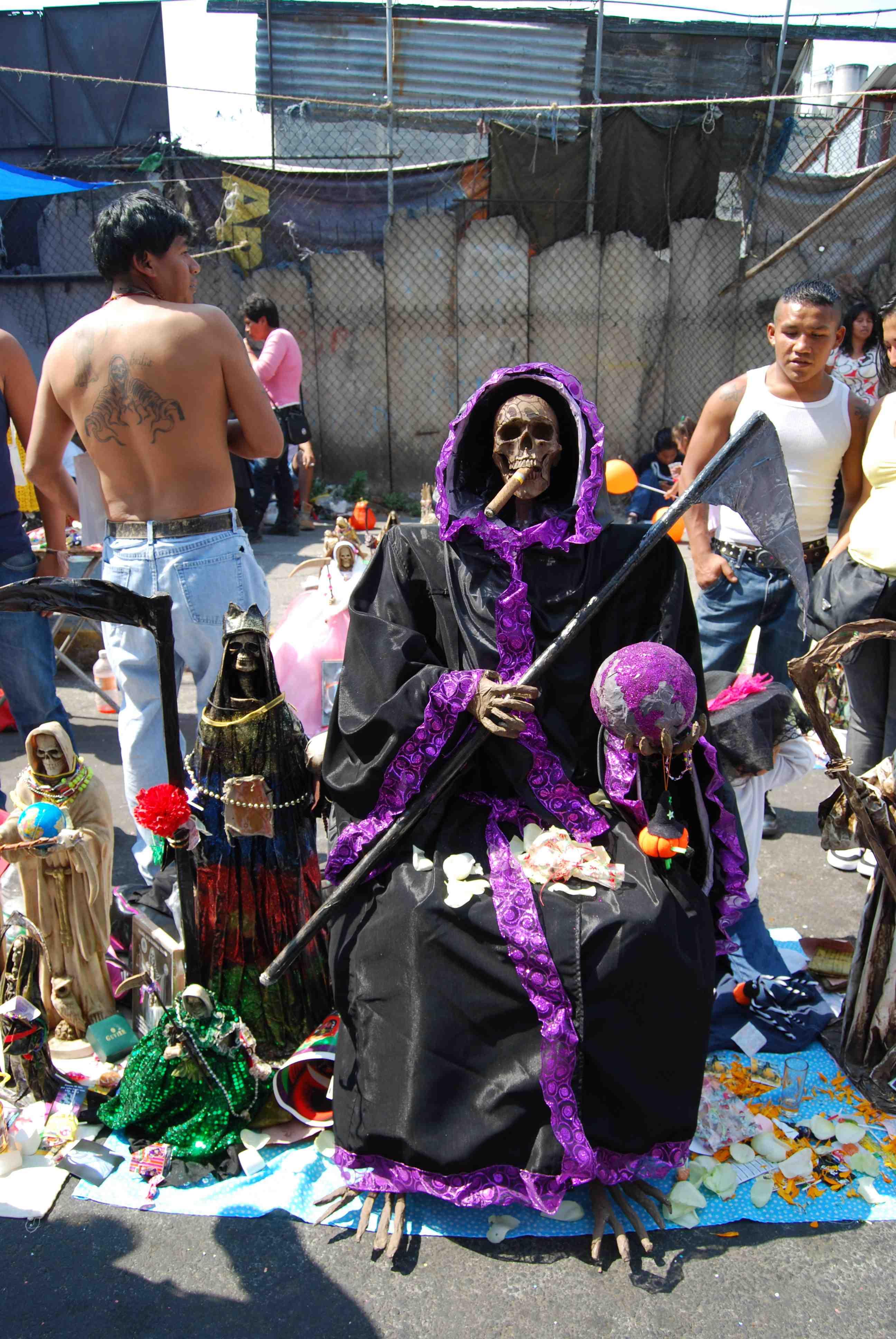Imagenes De La Santa Muerte Chidas Con Frases Photo Sexy