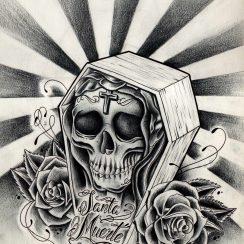 imagenes de la santa muerte45