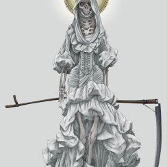 imagenes de la santa muerte68