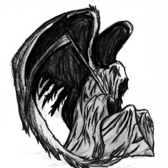 imagenes de la santa muerte83