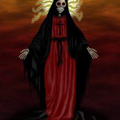 imagenes de la santa muerte90