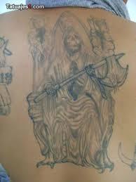 imagenes de la santa muerte sentada (7)