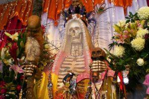 imagenes de la santa muerte vestida (1)