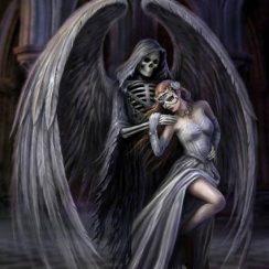Utilizar a la Santa Muerte negra para arruinar