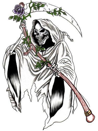 Dibujos de la sant sima muerte para descargar im genes de la santa muerte - Dessin de demon ...