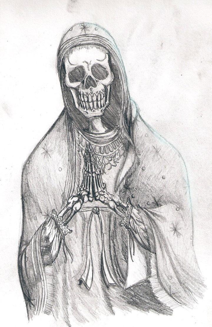 Dibujos de la Santísima Muerte para descargar - Imágenes de la ...
