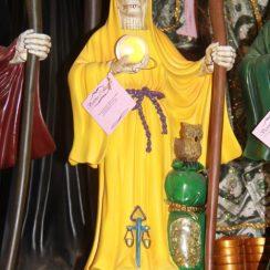 Imágenes de la Santa Muerte amarilla significado