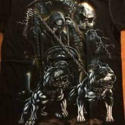 Imágenes de la Santa Muerte con perros