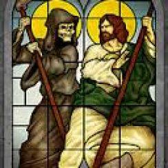 La Santa Muerte y San Judas Tadeo