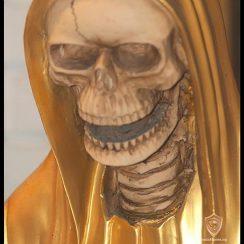 La Santa Muerte de la fortuna dorada
