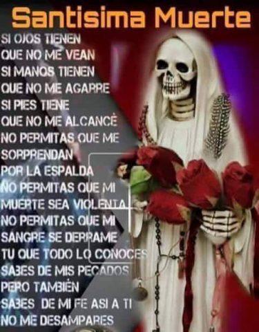 Imágenes de la Santa Muerte con frases chidas (18)