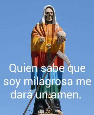 Imágenes de la Santa Muerte con frases chidas (34)