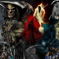 Fotos de la Santa Muerte para Facebook