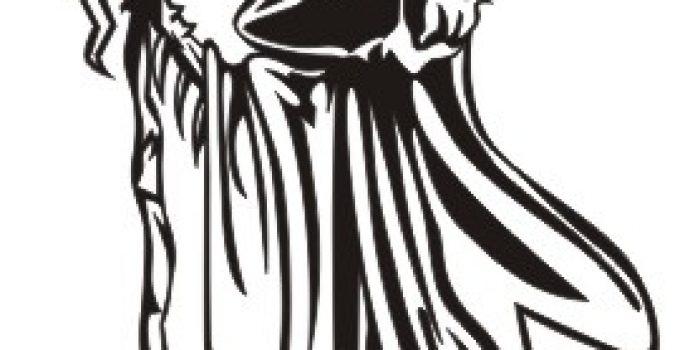 imagenes de la santa muerte dibujadas (1)
